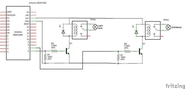 Arduino MKR1000 relay3_schem