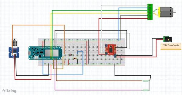 Chicken Coop Automation schematics