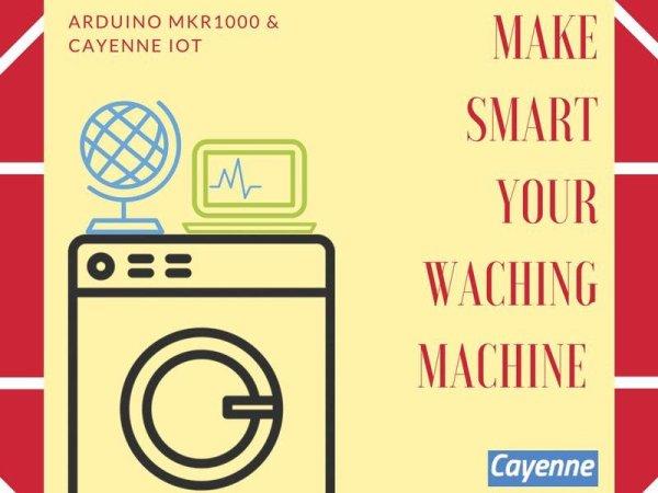 Make SMART Your Washing Machine