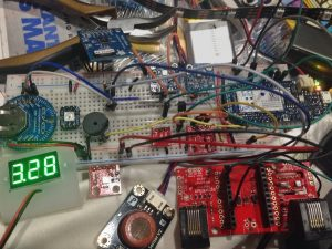 Multiple mode Environmental Sensor Deck with MKR1000