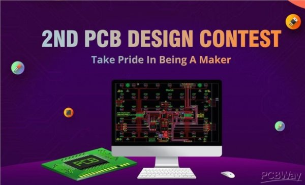 PCBWay 2nd Edition of PCB Design Competition – The Pride Of A Maker
