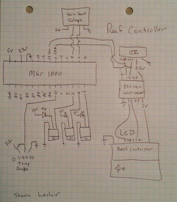 Reef Controller schematics