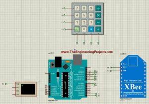 Remote Control designed in Proteus ISIS
