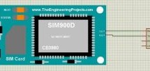 Send SMS with SIM900D in Proteus ISIS
