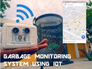 Smart Garbage Monitoring System Using Arduino 101