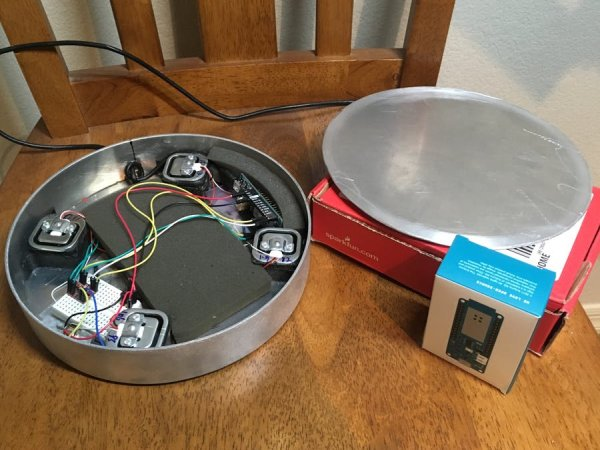 Smart IOT Propane Monitoring Pedestal