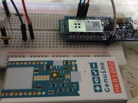 Start Connect ARTIK Cloud with Arduino Genuino MKR1000