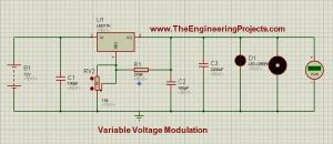 The complete circuit, ready for simulation is shown below in image