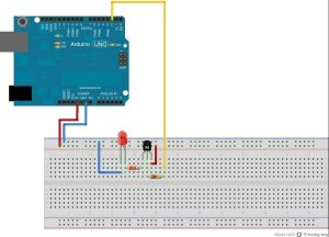 Universal Remote Control with Alexa and IR schematics