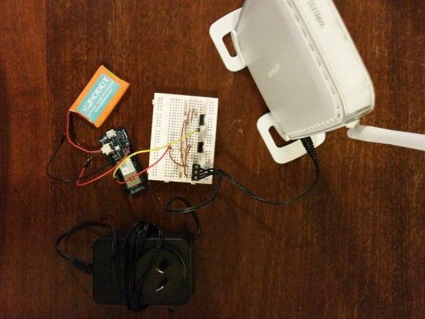 Wi-Fi Power Toggler