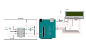Arduino Real Time Clock using DS1307 RTC Module