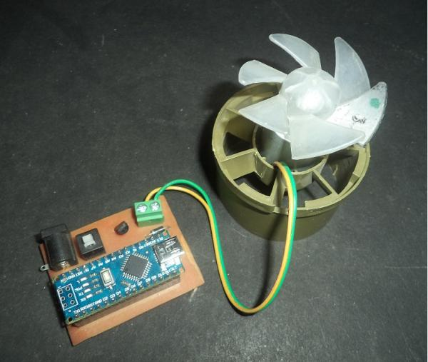 DC Motor Speed Control Using Arduino & PWM