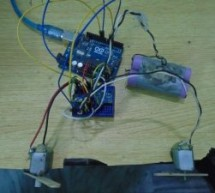DC Motor Speed Control using GY 521 Gyro/Accelerometer and Arduino