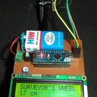 DIY: Measuring Wheel/Surveyor's Wheel Using Arduino & Rotary Encoder