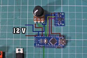 DIY Time Control Machine schematics