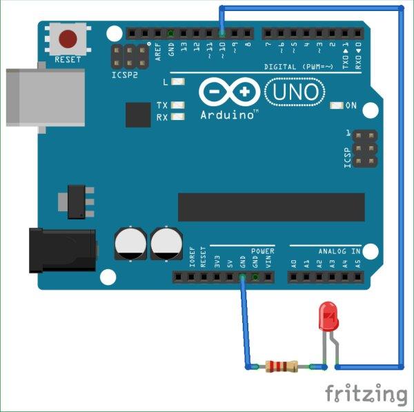 Interfacing Arduino with MATLAB - Blinking LED -Use Arduino