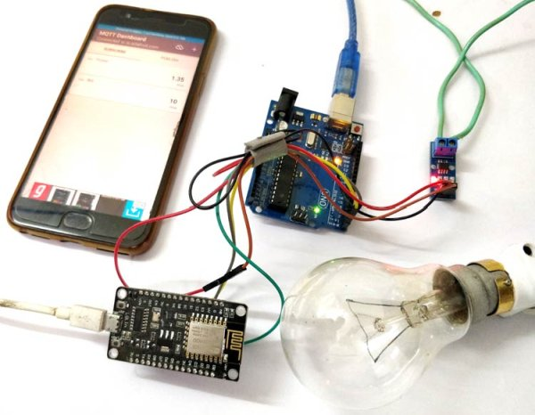 IoT Based Electricity Energy Meter using ESP12 and Arduino -Use