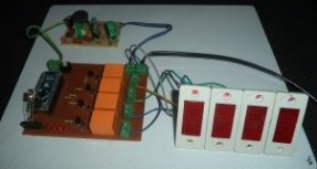 Project: Home Automation Using IR Remote Control