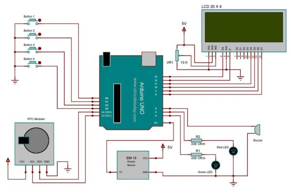 RFID Based Attendance System – Learn to Build Yourself -Use