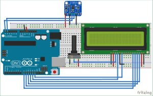 TVOC and CO2 Measurement using Arduino and CCS811 Air Quality Sensor schematics
