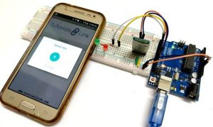 Voice Controlled LEDs using Arduino and Bluetooth