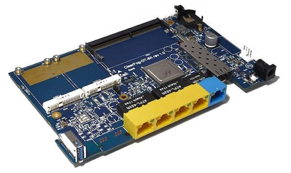 Latest ClearFog SBC offers four GbE ports and a 10GbE SFP+ port
