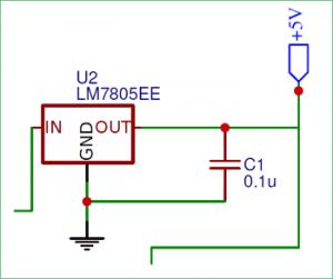 7805-Voltage-Regulator-Circuit