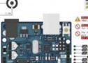 ATMEL ARDUINO COLORED CONNECTION CHART
