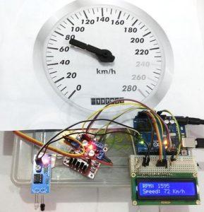 Assembled-Analog-Speedometer-Using-Arduino-and-IR-Sensor