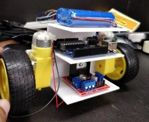 Assembled-DIY-Self-Balancing-Robot-using-Arduino