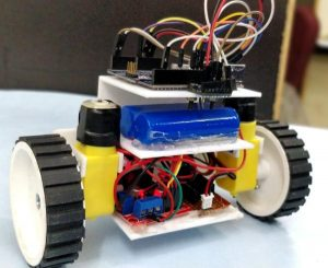 Circuit-Hardware-for-DIY-Self-Balancing-Robot-using-Arduino