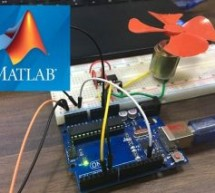 DC Motor Control Using MATLAB and Arduino