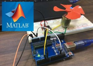 DC-Motor-Control-Using-MATLAB-and-Arduino