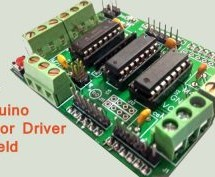DIY Arduino Motor Driver Shield