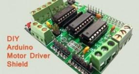 DIY Arduino Motor Driver Shield