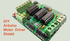 DIY-Arduino-Motor-Driver-Sh