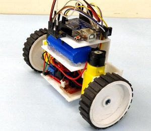 DIY-Self-Balancing-Robot-in-action