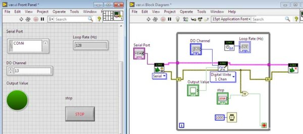 Interfacing LabVIEW With Arduino -Use Arduino for Projects
