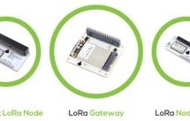 LoRa gateway and node boards run on Raspberry Pi power