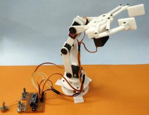 Record-and-Play-3D-Printed-Robotic-Arm-using-Arduino