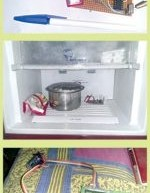 Microcontroller Projects: Fridge Temperature and Humidity Indicator