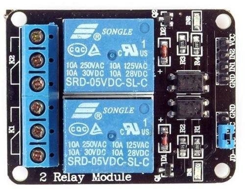 Channel relay module