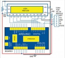 Wireless LCD Display via Bluetooth