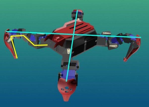 Wireless Crawling robot