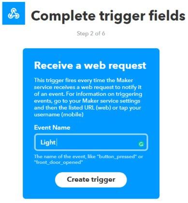 Create a Trigger