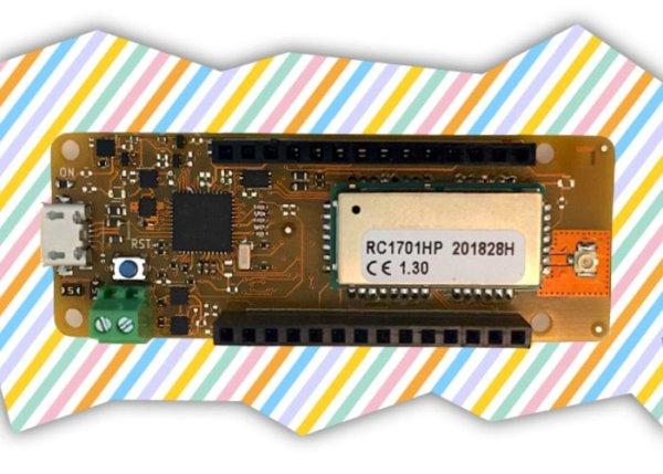 Extreme LPWA Arduino board