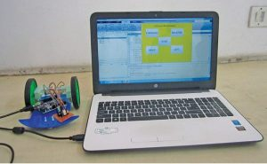 MATLAB GUI based robotic car