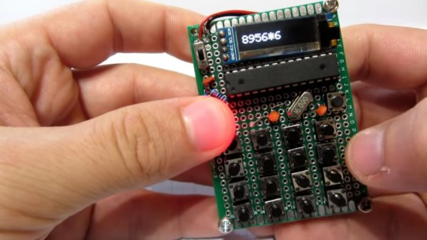 POCKET SIZED ARDUINO CALCULATOR MAKES A GREAT FIRST PROJECT