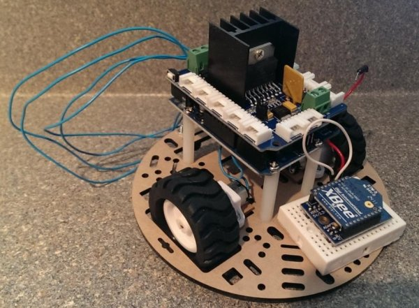 Remote Controlled Robot(2)