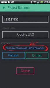 Typical authorisation token